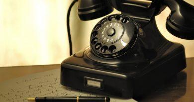 Central telefônica e de fofoca